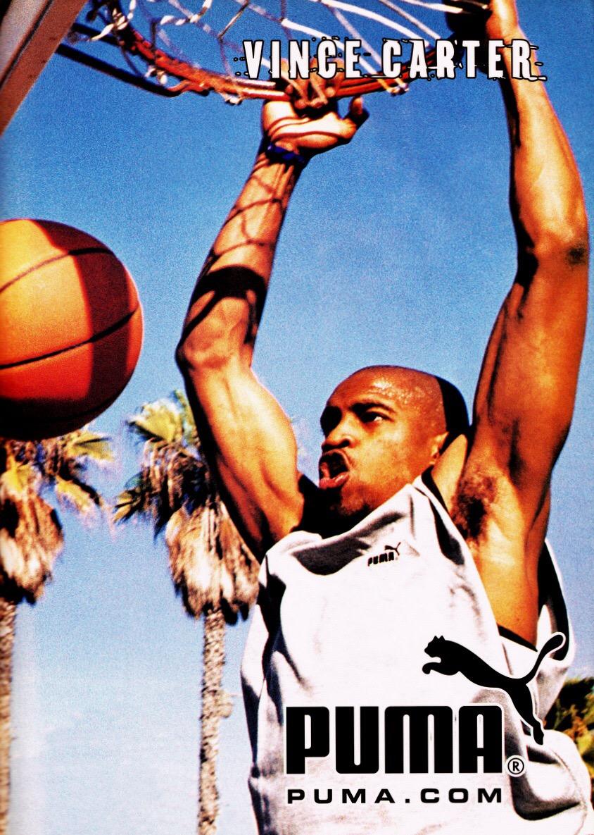 Puma 經典籃球鞋:Vinsanity
